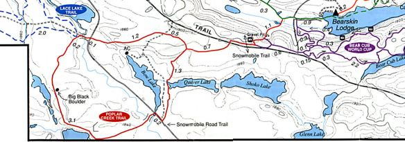 Poplar Creek Ski Trail