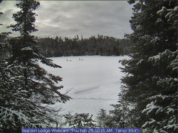 BearskinLodge webcam from noaa