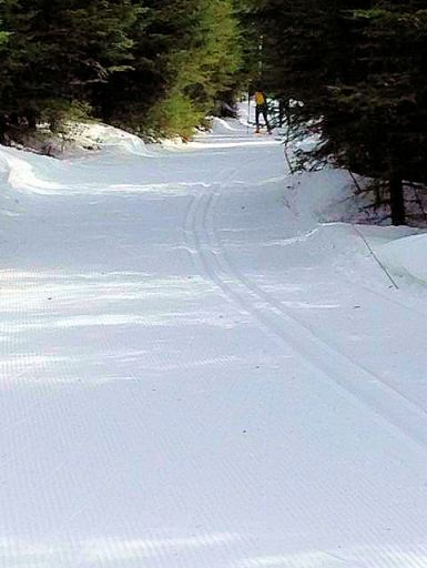 ski trail march 17