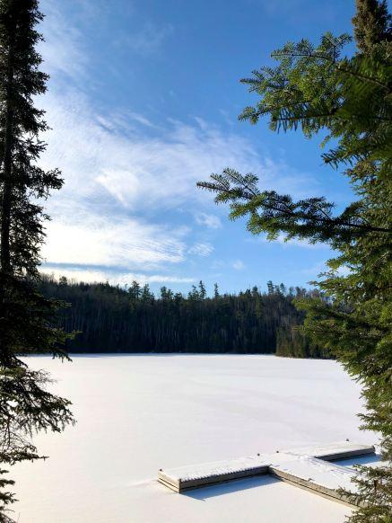 snowy lake 11.14.2019