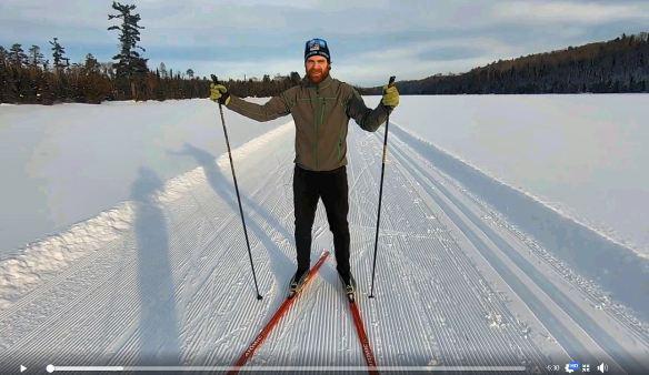 Skate ski tips